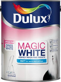 Dulux Retail Magic White Matt Paint - Pure Brilliant White - All Sizes