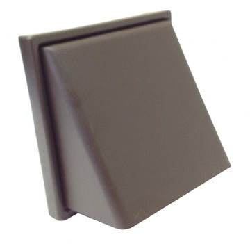 "Manrose Cowl Vent - 4"" Extractor Fan Cover - Brown"