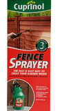 Cuprinol Fence Sprayer Quick And Easy To Use Pump-up Sprayer For Garden Wood