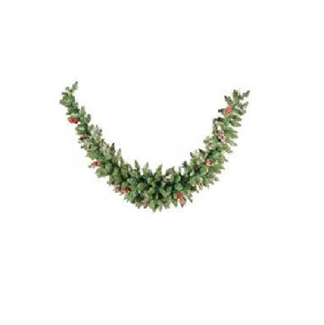 Sherwood Frosted Christmas Garland - 180cm