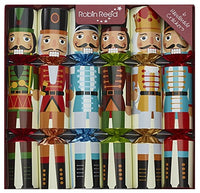 Robin Reed Crackers - Classic Nutcracker - 12 Inch - 6 Pack