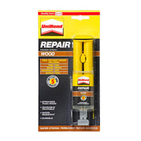 UniBond Repair Wood Power Epoxy Syringe 25ml