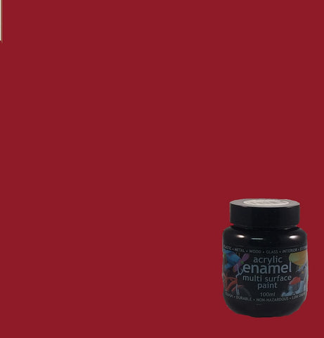 Polyvine Acrylic Enamel 100ml Paint ALL COLOURS STOCKED