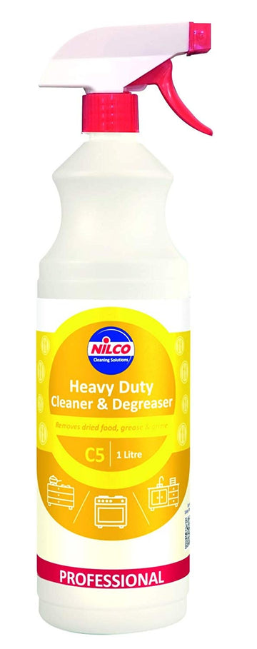 Nilco Heavy Duty Cleaner & Degreaser 1L - Professional Cleaning Spray