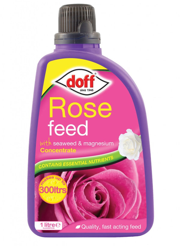 Doff Rose Feed Concentrate - Makes upto 300 Litres  - 1 Litre Plant Food