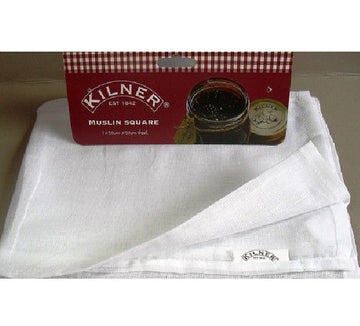 Kilner Muslin Square - 50x50cm - Jam and Jelly Straining Cloth