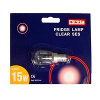 1 x Dencon 15w E14 Appliance Bulbs- Fridge / Sewing Machine Lamps