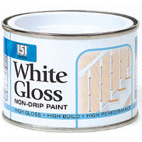 White Non Drip Gloss - 180ml