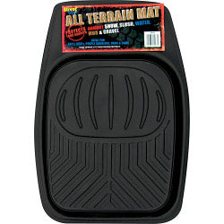 All Terrain Car Van Rubber Tray Mat Front Floor Footwell Tray Style Easy Clean