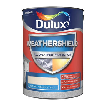 Dulux All Weather Protection Masonry - White & Colours - Textured - 5L