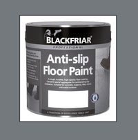 Blackfriar Anti-Slip Floor Paint - Tough and Durable - Various Colours and Sizes