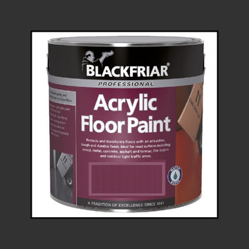 Blackfriar Acrylic Floor Paint - Hard Wearing - Various Colours and Sizes