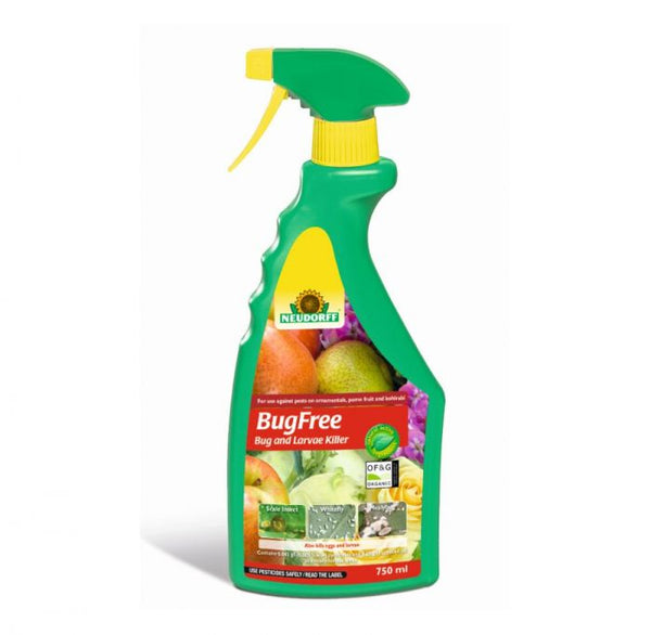 Neudorff Pyrol Bug & Larvae Killer  - 750ml Spray Bottle