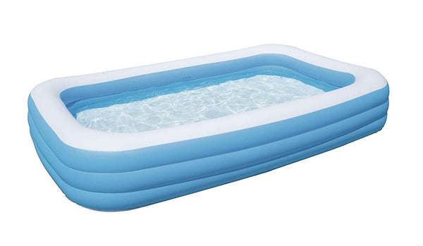 Bestway Family Pool Deluxe - Rectangular paddling pool - Blue - 305x183x56 cm (10 Ft)