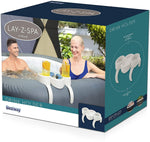 Lay-Z-Spa Hot Tub Drinks and Food Holder, Inflatable Spa Accessory with Logo