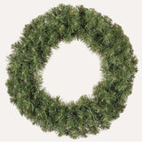 Colorado Christmas Wreath - Plain Green - 45cm - Ready to Decorate
