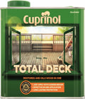 Cuprinol Total Deck - Restores and Oils Wood in One - Clear 2.5L and 5 Litre