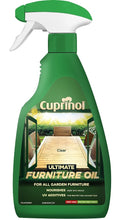 Cuprinol Garden Ultimate Furniture Oil Clear - 500ml Trigger Spray