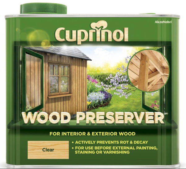 Cuprinol Wood Preserver - Clear - All Sizes