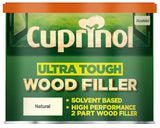 Cuprinol Ultra Tough Wood Filler - High Performance 2 Part - Natural Colour