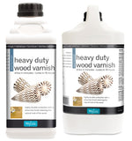 Polyvine Dead Flat Heavy Duty Interior Wood Varnish 500ml, 1 Litre, 4 Litre