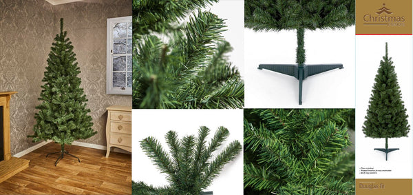Douglas Fir Pine Christmas Xmas Tree Trees Green Beautiful Quality - 5 Sizes