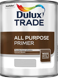 Dulux Trade All Purpose Primer Grey 2.5 Litres & 1 Litres Tracked Postage