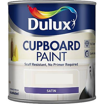 Dulux Retail Cupboard Paint - 4 Colours - 600ml