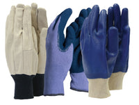 Town & Country Mens Gardening / Work Gloves -Triple Pack