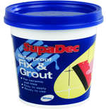 Supadec Waterproof Fix & Grout 330g / 500g / 1kg Perfect For Tiling Fixing