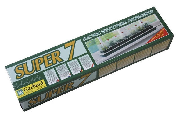 Garland Super 7 Electric Windowsill Propagator - 76 x 18 x 15cm - 13 Watts