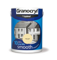 Granocryl Smooth Exterior Masonry Paint - All Sizes - All Colours