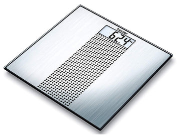 Beurer GS36 - Slim Electronic Glass Bathroom Scales with Stainless Steel