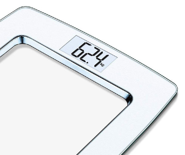 Beurer GS490 - Glass Bathroom Scales - White