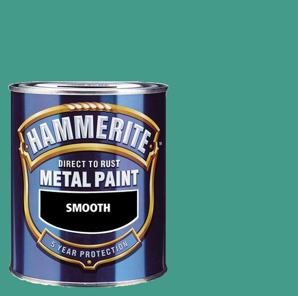 Hammerite - Smooth Direct To Rust Metal Paint - Mixed Colours - 750ML