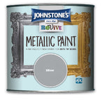 Johnstones Revive Metallic Furniture Paint - Gold and Silver - 375ml