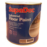 SupaDec Industrial Floor Paint 1L Tile Red / Black / Light Grey / Slate Grey