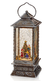 Christmas Glitter Water Spinner 'Lantern' Decoration - Kids & Christmas Tree