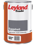 Leyland Trade Oil Based Eggshell Paint - Brilliant White - All Sizes