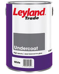 Leyland Trade Undercoat Paint - White - All Sizes