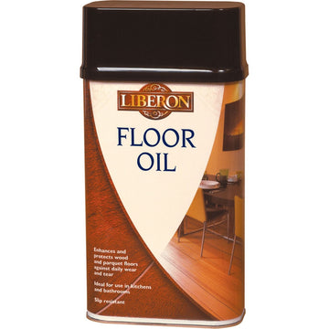Liberon Floor Oil - Enhances and Protects Wood Floors - All Sizes