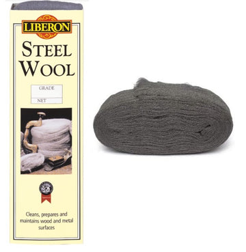 Liberon Steel Wire Wool - High Quality - All Grades - All Pack Sizes