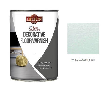 Liberon Colour Care Decorative Floor Varnish - 1L, 5L - All Colours