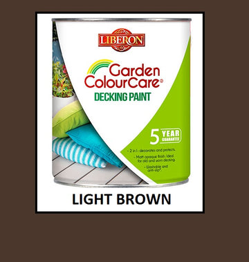 Liberon Garden Colour Care Decking Paint - All Colours