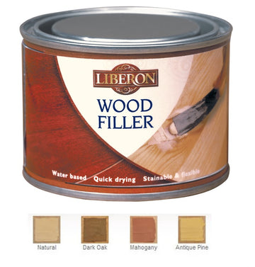 Liberon Wood Filler - High Resistance - Various Colours  - 125ml