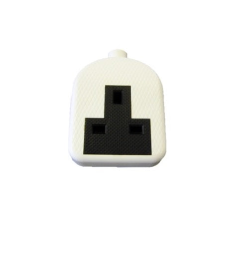 Dencon 13A 1 Gang Rubber Extension Socket  (No Lead)
