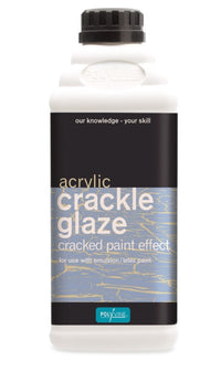 Polyvine Crackle Glaze -  Easy To Apply Water Based - All Sizes