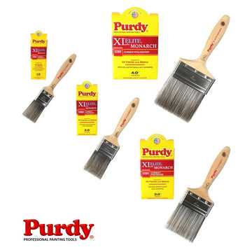 Purdy XL Elite Monarch Paint Brush - For All Paints and Stains - All Sizes