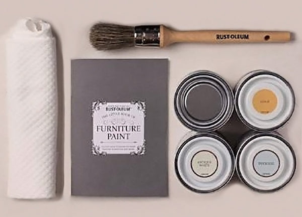 Rust-Oleum Little Box of Chalky Furniture Paint Starter Kit