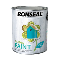 Ronseal Outdoor Garden Paint - For Exterior Wood Metal Stone Brick - All Colours